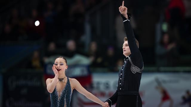 Le couple Boikova-Kozlovskii sacré champion d'Europe