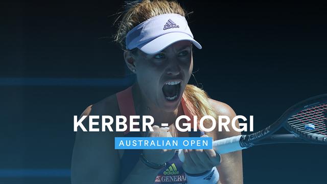 Camila Giorgi non sfrutta l'occasione, vince ancora Kerber: rivivi gli highlights in 180 secondi