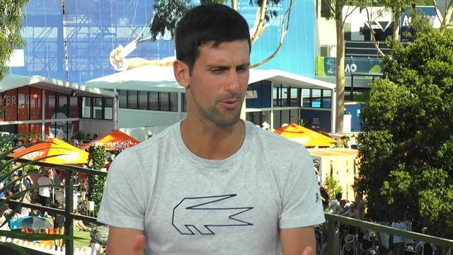 Game, Schett and Mats - 'It is a champion's mentality': Novak Djokovic on improved serve