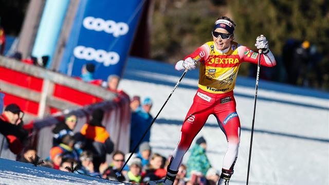 Йохауг выиграла гонку на 10 км свободным стилем, Непряева – десятая