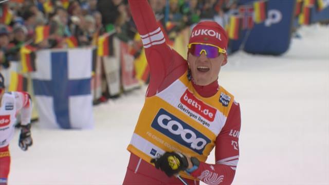 Сладчайший финиш скиатлона: Большунов опередил четырех норвежцев