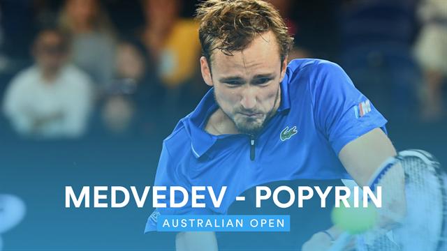 Australian Open| Medvedev maakt geen fouten in derde ronde