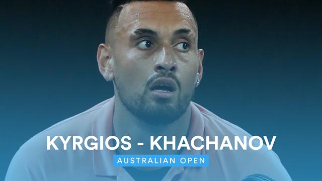 Australian Open   Een ware thriller tussen Kyrgios en Khachanov