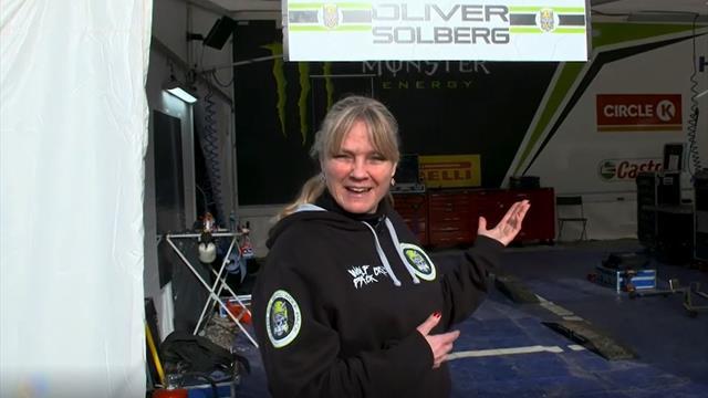 Få full omvisning hos Team Solberg i Monte Carlo