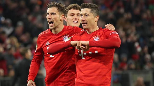 Le Bayern s'amuse et revient sur les talons de Leipzig