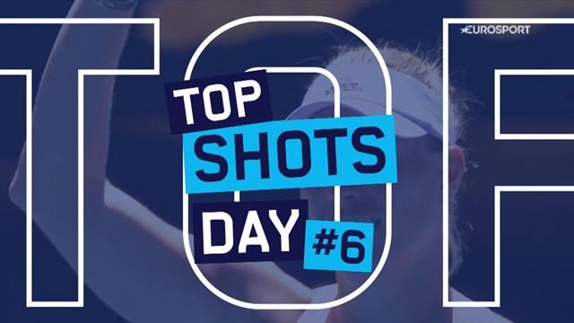 Top 5 Australian Open: i colpi più belli del Day 6, il tuffo di Kyrgios, la parata di Gulbis
