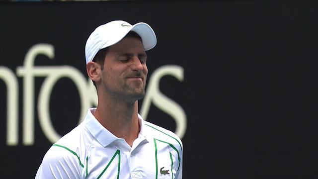 Australian Open| Schwartzmann raakt Djokovic al bij eerste punt