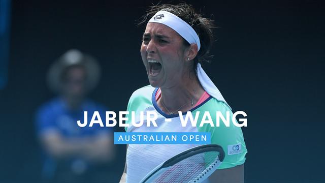 Open de Australia 2020: Jabeur vs Wang, vídeo resumen del partido