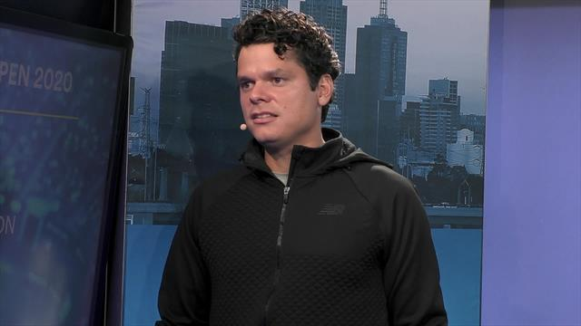 Legend's Masterclass: Raonic discusses his excellent form with Mats