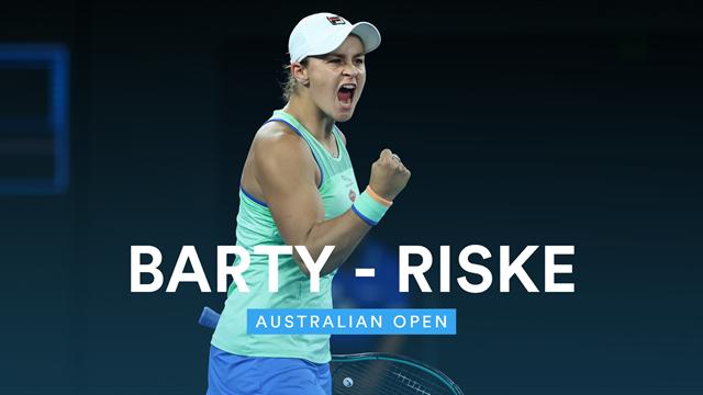 Open de Australia 2020: Barty-Riske, vídeo resumen del partido