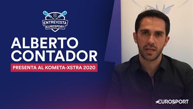 Entrevista a Alberto Contador: Así es el equipo Kometa-Xstra y sus expectativas para 2020