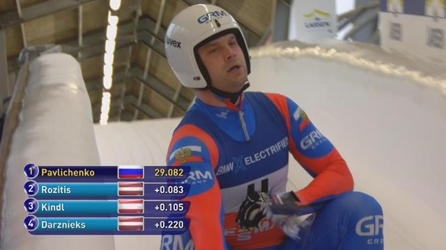Павличенко взял золото в спринте на этапе Кубка мира в Сигулде