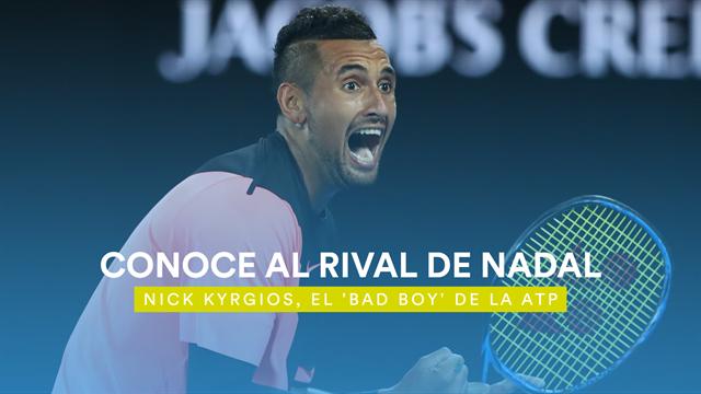 Conoce a Nick Kyrgios, el próximo rival de Nadal: Un apasionado del baloncesto y de la música