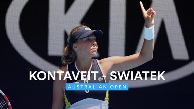 Open de Australia 2020: Kontaveit-Swiatek, vídeo resumen del partido