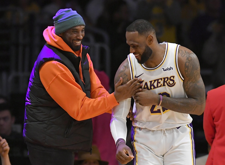 Kobe Bryant et LeBron James le 29 décembre dernier.
