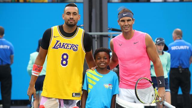 Open de Australia 2020: Melbourne se llena de homenajes a Kobe Bryant: Nadal, Kyrgios, Gauff...