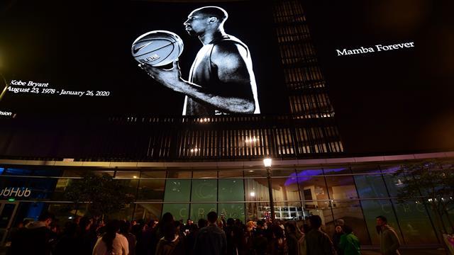 Cérémonie en mémoire de Kobe Bryant le 24 février à Los Angeles