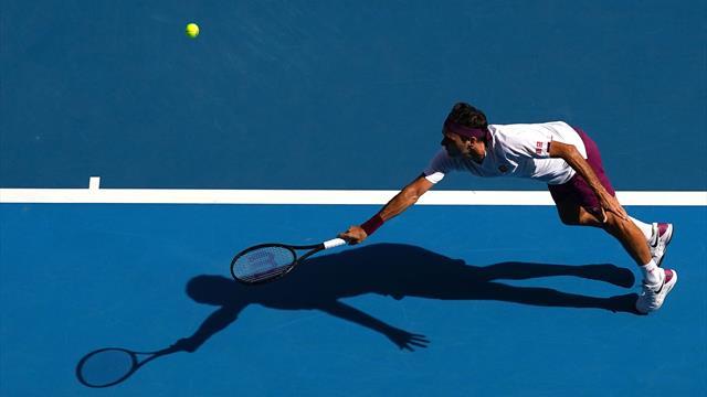 Unfassbare Willensleistung! Angeschlagener Federer wehrt sieben Matchbälle ab