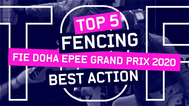 The Top 5 points from the fencing Grand Prix in Doha