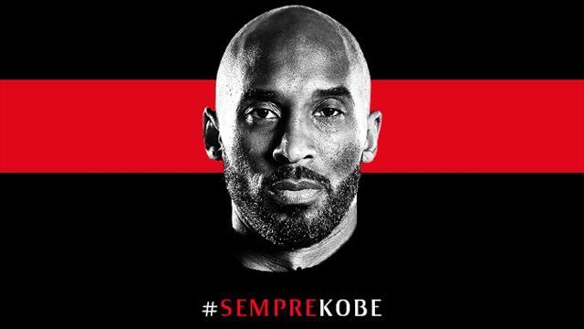 Brassards noirs, applaudissements et Queen : San Siro a rendu hommage à Kobe Bryant