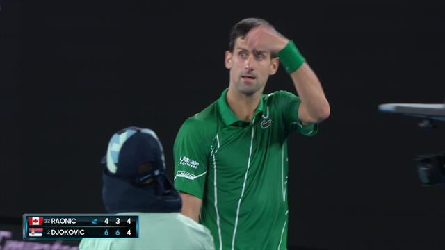 'I can't see' – Djokovic calls medical timeout