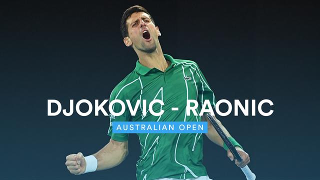 Djokovic rejoint Federer en demi-finale — Open d'Australie