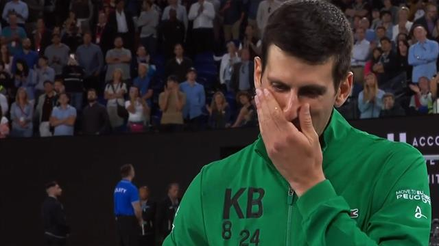 Trauer um Freund Bryant: Djokovic ringt um Worte