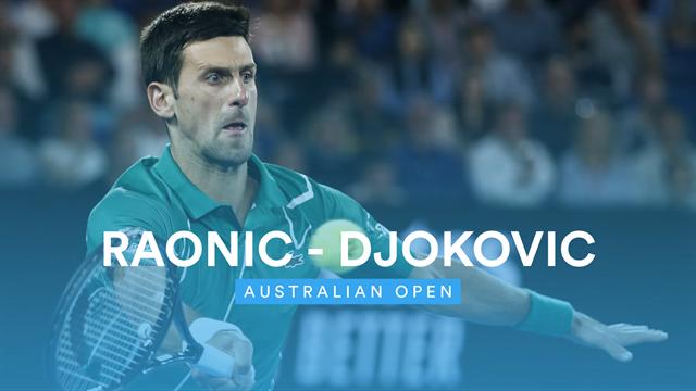 Zwei starke Sätze, ein überragender Tiebreak: So kam Djokovic ins Halbfinale