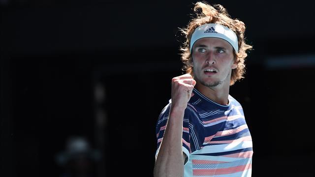 Zverev books first Grand Slam semifinal spot