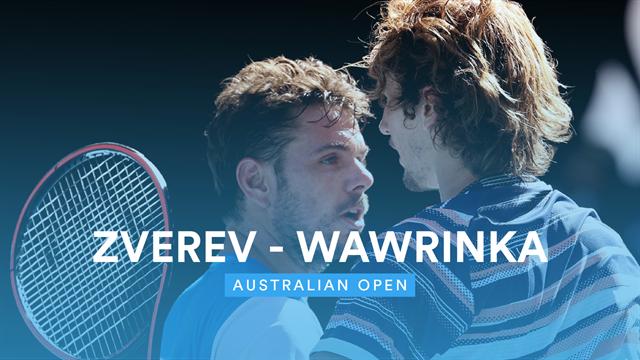 Avustralya Açık Çeyrek Finali: Stan Wawrinka - Alexander Zverev