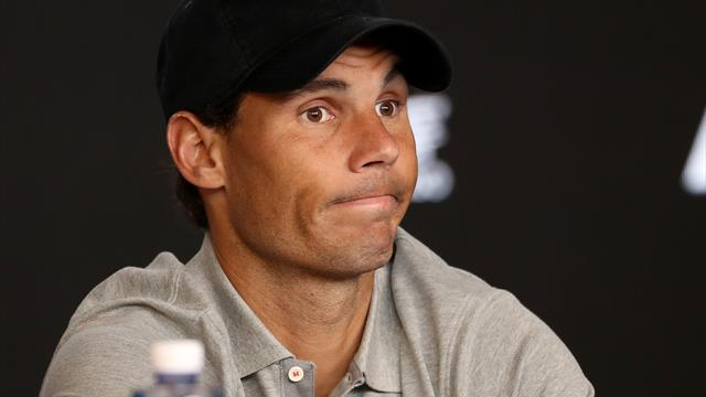 Nadal stopped by security after forgetting accreditation