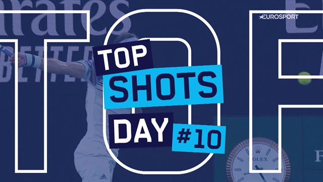 Australian Open | Top 5 beste punten van dag 10