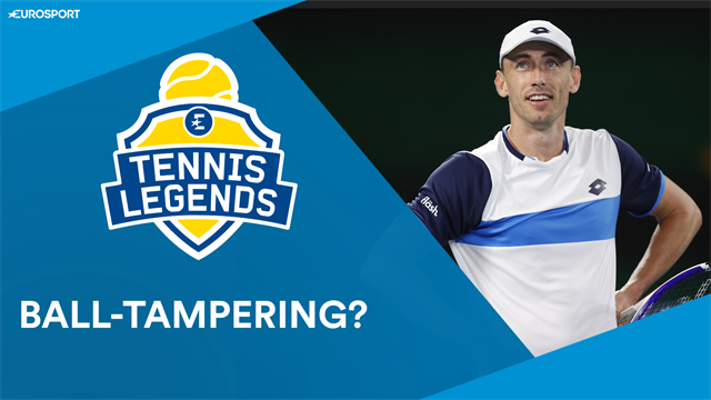 Tennis Legends: Ball-tampering? Accidental or something more...?