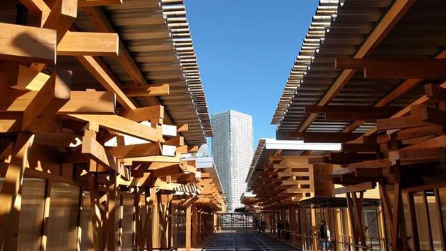 """La Villa Olímpica de Tokio 2020 tendrá una plaza """"reciclable"""" como epicentro"""