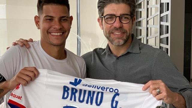 Bruno Guimarães est à Lyon