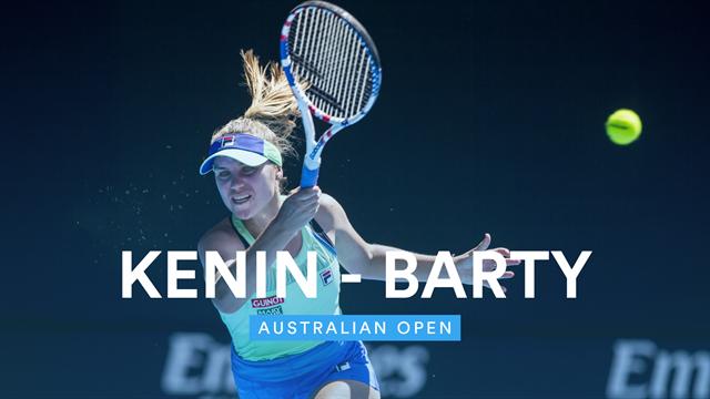 Open de Australia 2020: Kenin-Barty, el sueño australiano tendrá que esperar