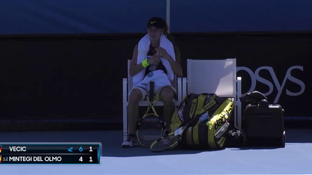 Australian Open| Verstrengende hitte legt juniorenwedstrijd stil