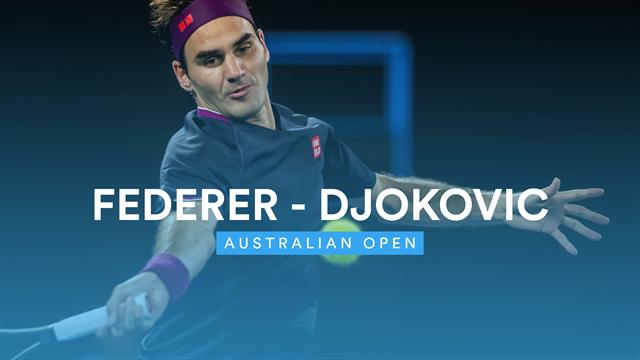 Djokovic kontert Federers Traumstart: Die besten Szenen zum Halbfinal-Kracher