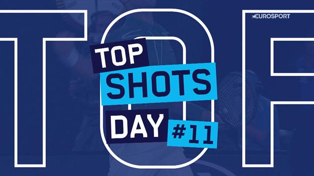 Top5 puntazos (Día 11): La masterclass de Federer pese a su derrota y Garbiñe devolviendo todo