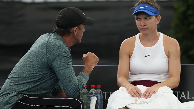 Reacția lui Darren Cahill după eliminarea Simonei Halep de la Australian Open