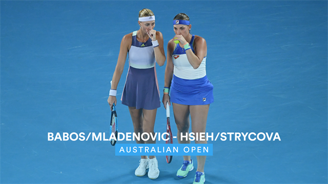 Highlights: Top seeds Mladenovic and Babos win second Australian Open title
