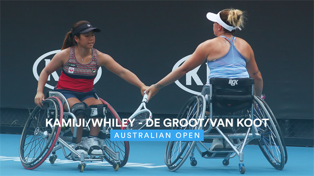 Australian Open| De Groot/Van Koot niet opgewassen tegen Kamiji/Whiley in finale