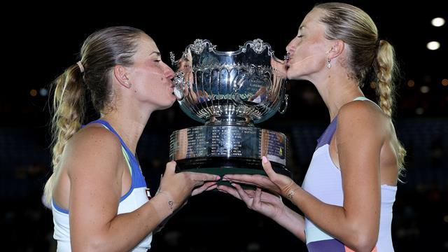 Australian Open| Babos & Mladenovic winnen Australian Open
