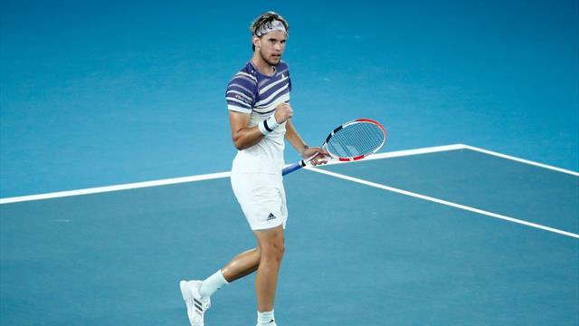 Watch: The moment Dominic Thiem made maiden Australian Open final