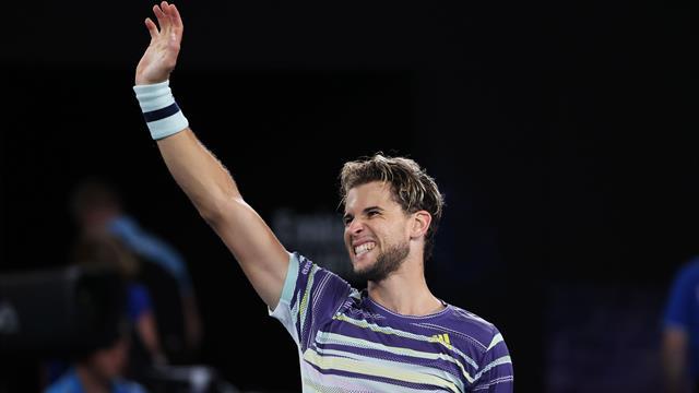 """Dominic Thiem, despre finala cu Novak Djokovic la AO: """"Mereu întâlnesc regii acestor turnee"""""""
