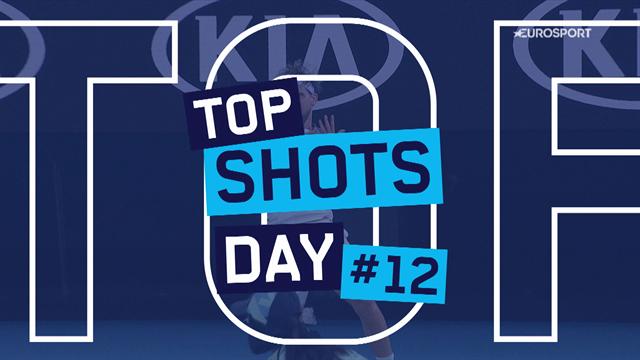 Australian Open | Top 5 shots dag 12