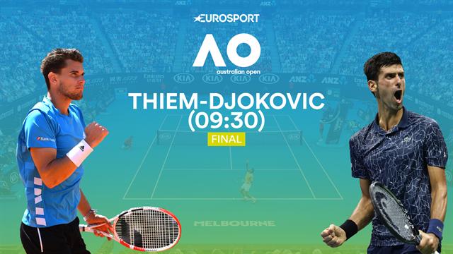 Australian Open 2020 | Preview Mannenfinale Djokovic - Thiem
