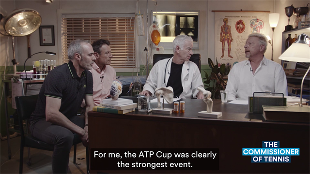 Becker to Commissioner McEnroe: ATP Cup is clearly the strongest offering