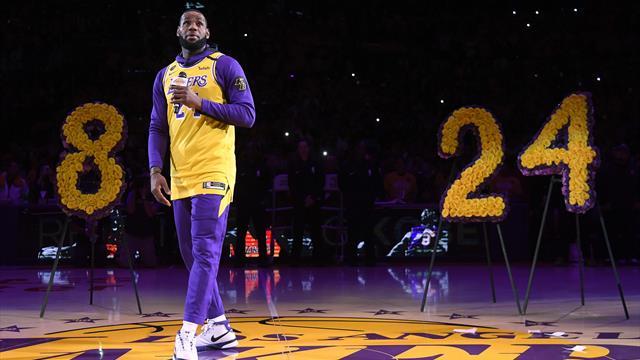 LA Lakers, la primul meci după moartea lui Kobe Bryant. Cum a fost omagiat fostul mare baschetbalist