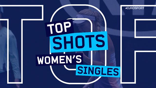Top 10 Shots: Halep, Kenin and Wozniacki all feature